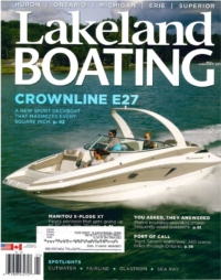 Crownline Magazine Cover