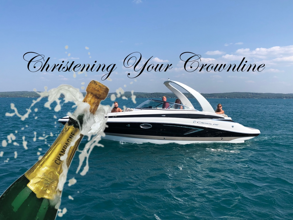 christening your crownline