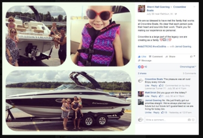 Why we are Crownies - Crownline Boats