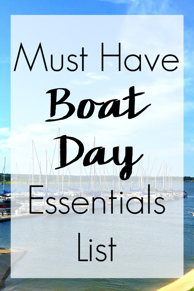 Crownline Boating essentials