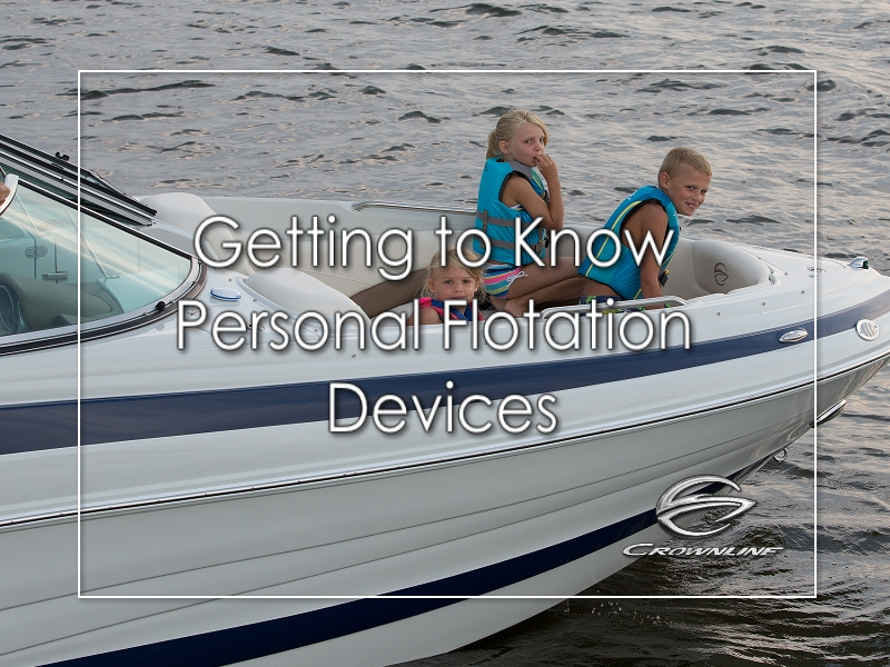Getting to know personal flotation devices
