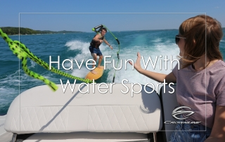 Have fun with water sports