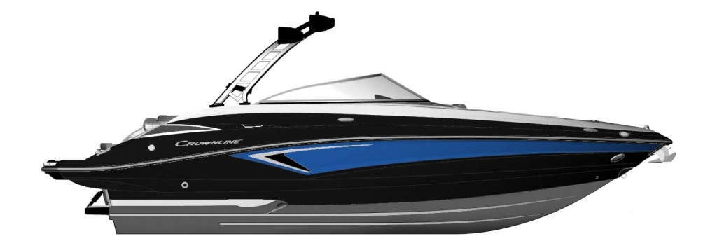 Crownline 265SS Surf Drawing