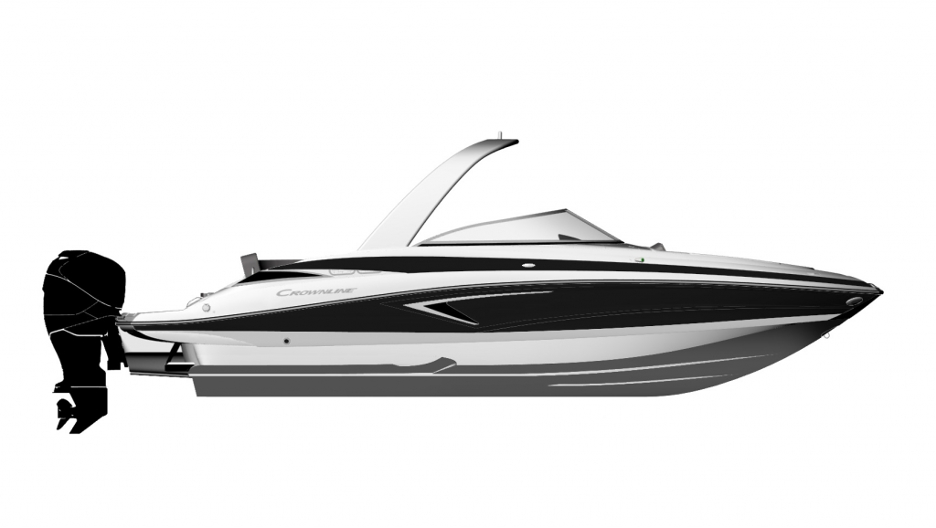 Crownline 280 XSS Drawing