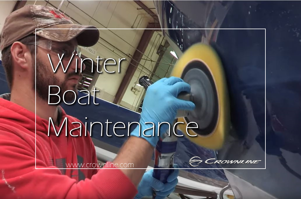 winter boat maintenance